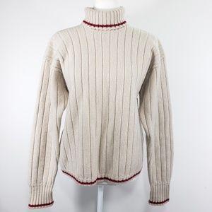 Tommy Hilfiger Wool Turtleneck Sweater, Size M